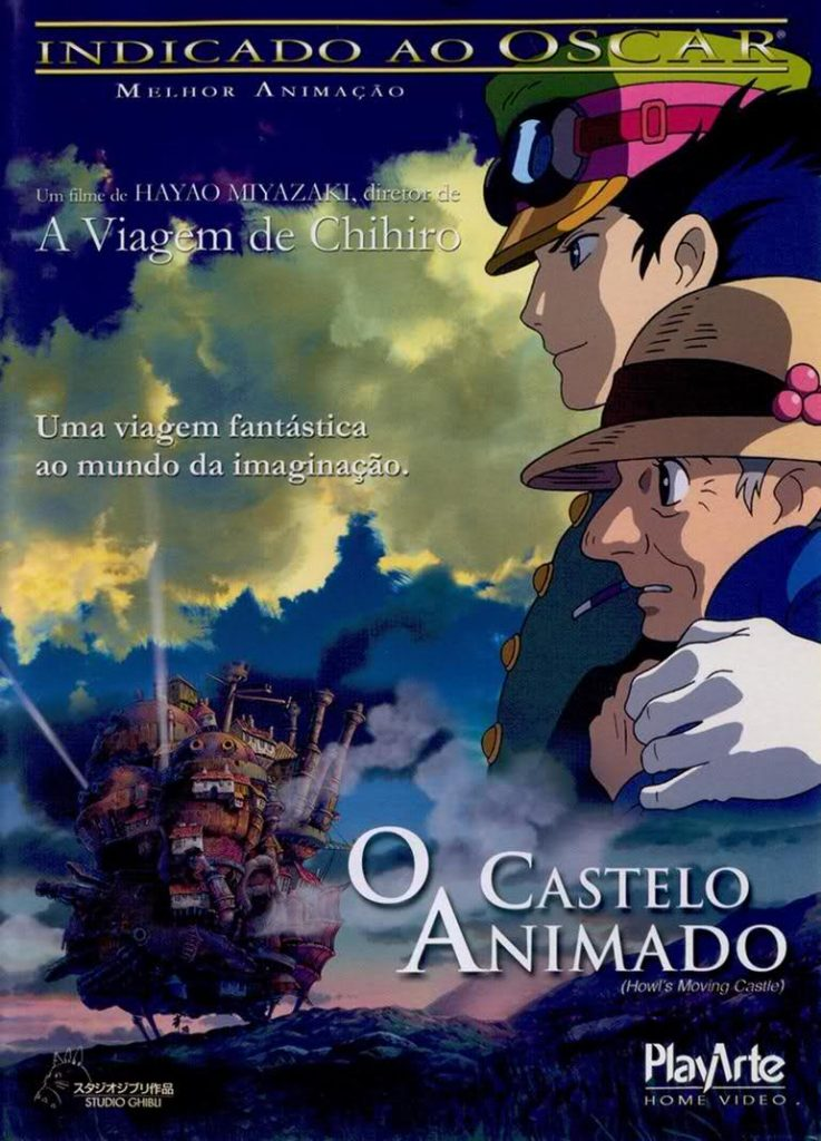 O Castelo Animado Howl's Moving Castle Howl no Ugoku Shiro