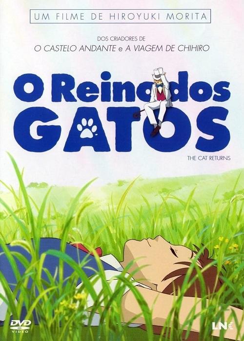 O Reino dos Gatos Neko no Ongaeshi The Cat Returns