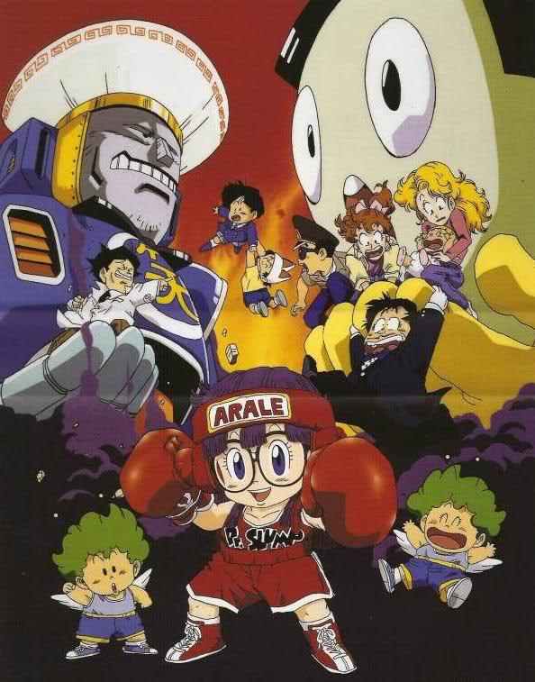 Dr. Slump - Movie 07 Dr. Slump & Arale-chan Ncha! Penguin Mura yori Ai wo Komete