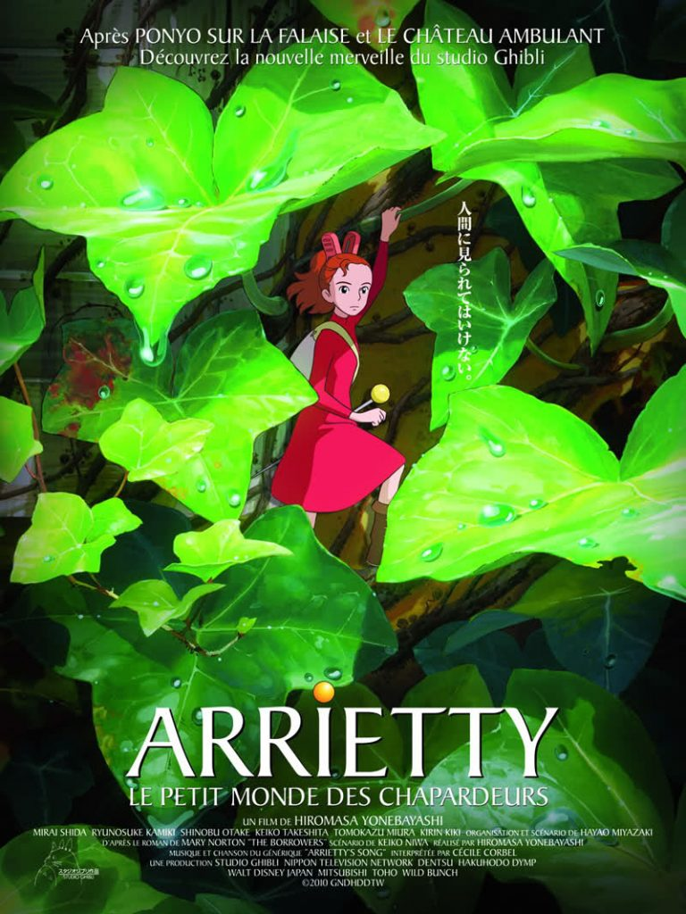 Arrietty O Mundo dos Pequeninos Karigurashi no Arrietty The Borrower Arrietty Arrietty The Borrowers Os Pequeninos The Secret World of Arrietty