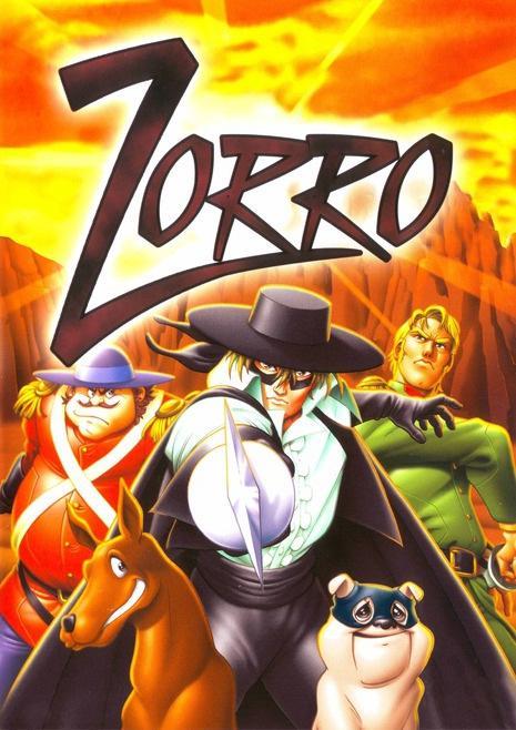 A Lenda do Zorro Kaiketsu Zorro The Legend of Zorro A Lenda de Zorro