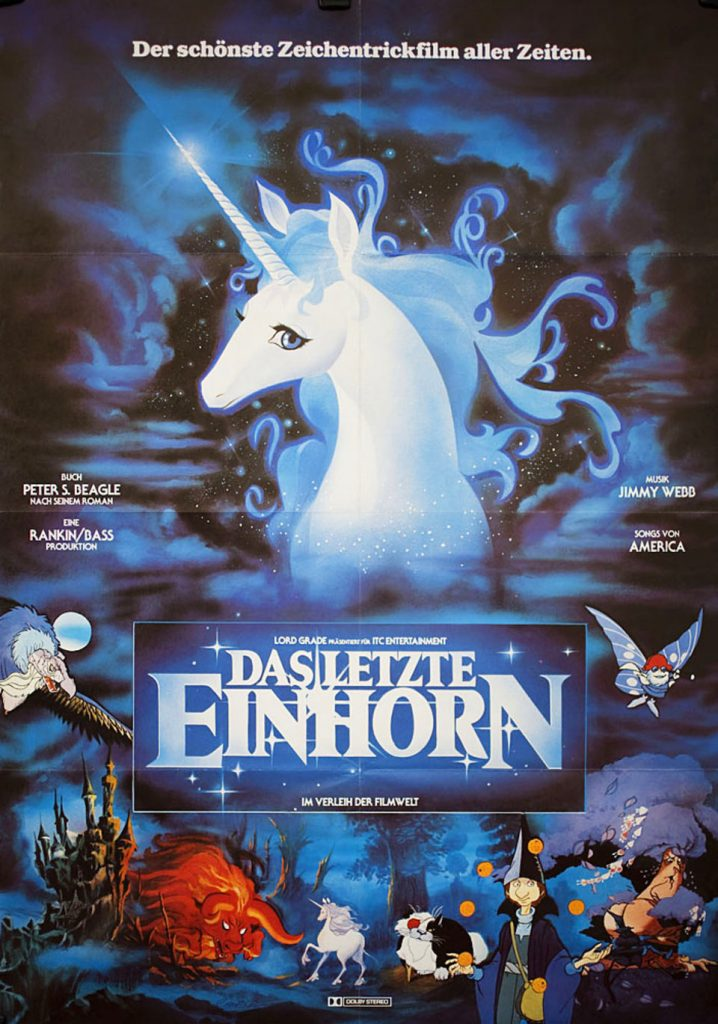 The Last Unicorn O Último Unicórnio